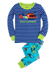 Hatley Soft Landing Helicopter Pyjamas size 10 only