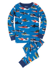 Hatley Monster Boat Pyjama Set