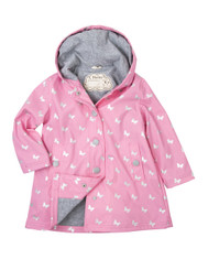 Hatley Silver Butterflies Splash jacket