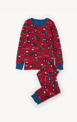 Hatley Farm Tractors Organic Cotton Pyjama Set