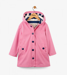 Hatley Classic Pink & Navy Splash Jacket