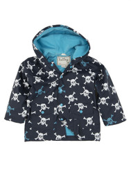 Hatley Skulls Raincoat sizes 2 and 7 only