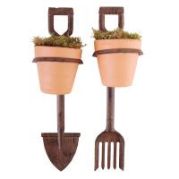 Mr Middleton Fork and Spade Planter Pots Holder
