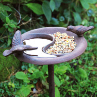 Mr Middleton Bird Bath & Feeder