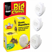 STV Sonic Mouse and Rat Repeller 3 Pack