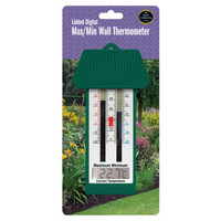 Lidded Digital Max/Min Wall Thermometer