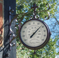 York Station Clock & Thermometer