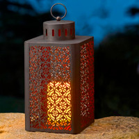 Ottoman Battery Operated Candle Lantern