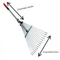 Telescopic Expandable Rake
