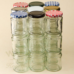 190 ML DELUXE JAM/FOOD JAR BARGAIN PACK (192)