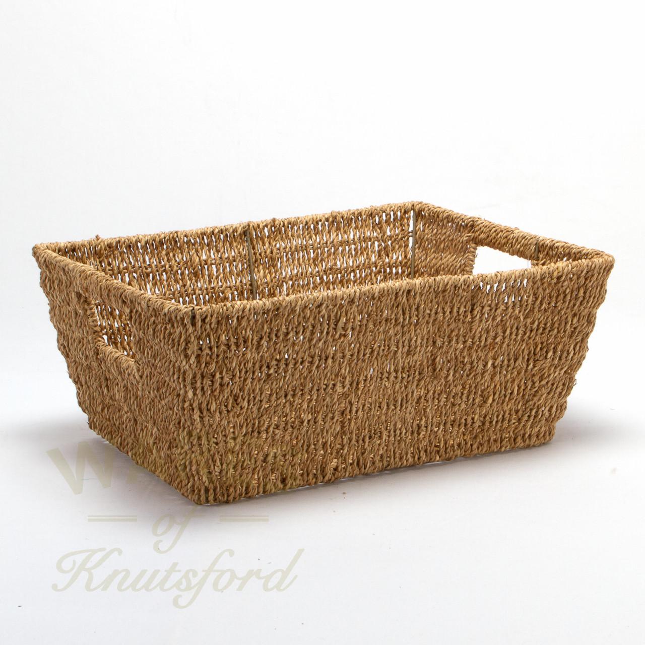 sea grass baskets