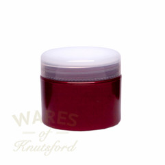 50ml Bright Red Plastic Cosmetic Jar