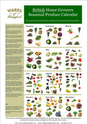 Free British Produce Seasonal Calendar