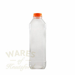 1000 ml (1Litre) Square PET Bottle