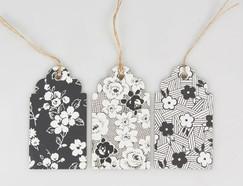 Parisian Floral Gift Tag Set of 15