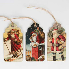 Father Christmas Gift Tags (Set of 15)