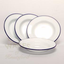 enamel soup plates