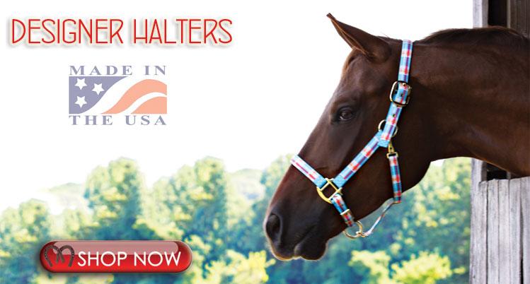 Designer Horse Halters
