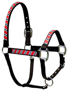 Red, White and Black Equine Elite Halter
