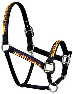 Red Flames Equine Elite Halter