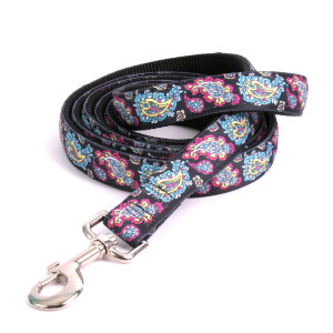 Black Paisley Equine Elite Horse Lead