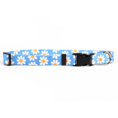 Blue Daisy Horse Neck Collar