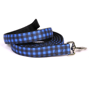 Buffalo Plaid Blue Equine Elite Horse Lead