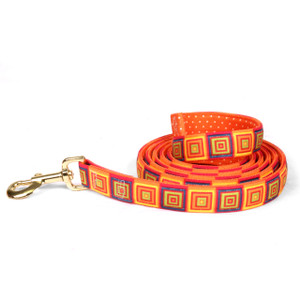 Orange Blocks High Fashion Horse Lead