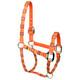 Orange Blocks High Fashion Halter
