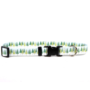 Winter Trees Horse Neck Collar