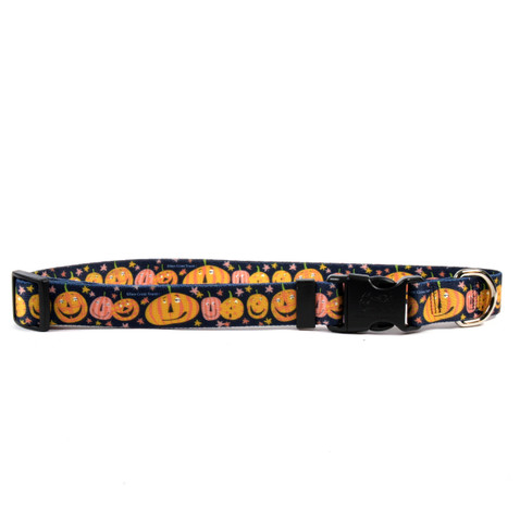 Pumpkin Party Horse Neck Collar