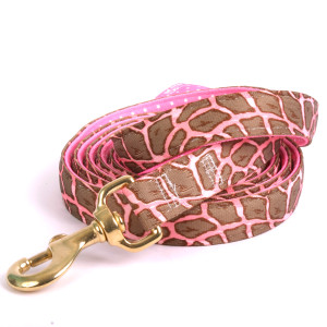 Giraffe Pink High Fashion Horse Lead