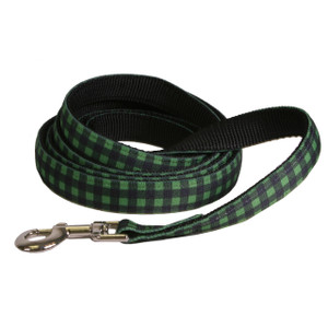 Buffalo Plaid Green Equine Elite Horse Lead