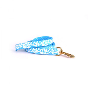 Island Floral Blue High Fashion Horse Lead
