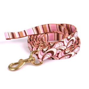 Pink/Brown Scallops High Fashion Horse Lead