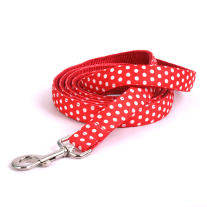 Red Polka Equine Elite Horse Lead