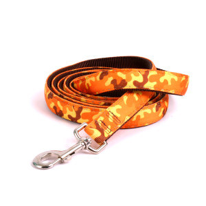 Reflective Orange Camo Equine Elite Horse Lead