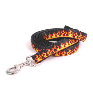 Reflective Red Flames Equine Elite Horse Lead