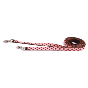 Pink-Brown Polka Reins