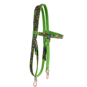 Peace Signs Headstall