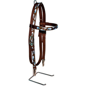 Brown Paisley Headstall