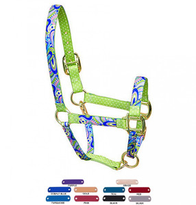 Personalized Name Plate Mod High Fashion Horse Halter