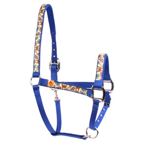 Butterflies on Yellow  High Fashion Horse Halter