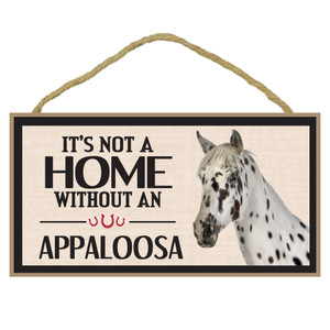 Appaloosa Wood Sign