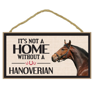 Hanoverian Wood Sign