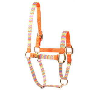 Chevy Stripes Multi Color High Fashion Halter