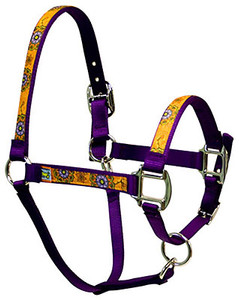 Folk Flowers Equine Elite Halter
