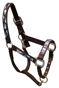 Brown Paisley Equine Elite Halter