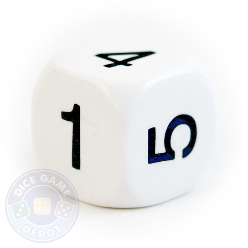 20mm d6 - Numbers 1-6
