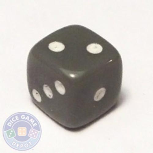 5mm Opaque Gray Dice